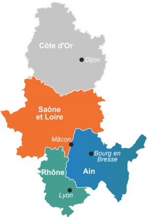 Départements Service RH indépendant Rhône, Ain Saone-et-loire, Macon Lyon, Dijon